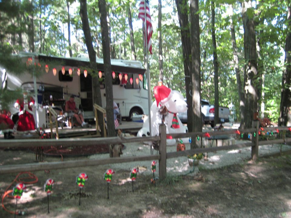 Christmas In July Camping.Site 74 Christmas In July Holiday Camping Resort