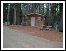 Holiday Camping Resort cabin1