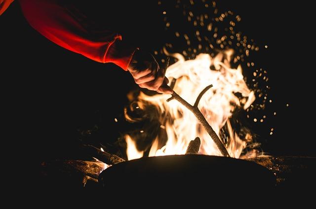 Holiday Camping Resort campfire-1031162_640
