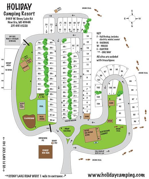 Holiday Camping Resort sitemap
