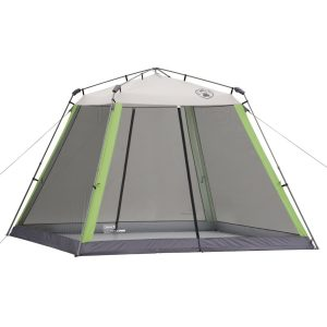 screened camping tent